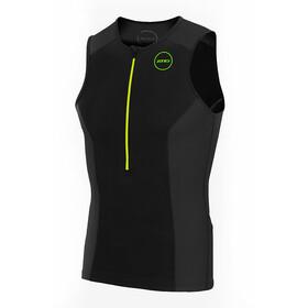 Zone3 Aquaflo Plus Top Heren, black/grey/neon green